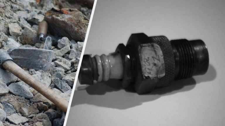 500000 year old spark plug discovered