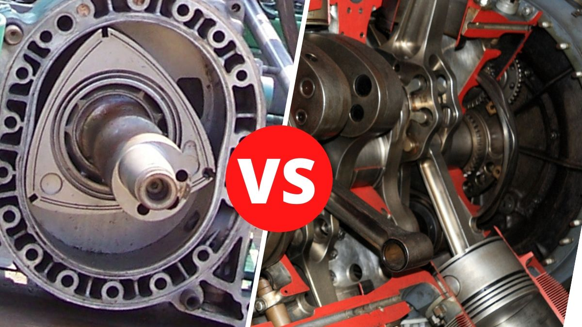 Wankel Engine vs Piston
