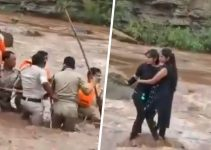 "Selfie Almost kills Two Girls in River ""Pench"""