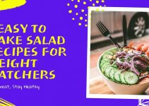 5 Super Easy Salad recipes for weight watchers