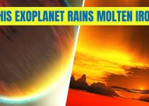 This Exoplanet rains molten iron
