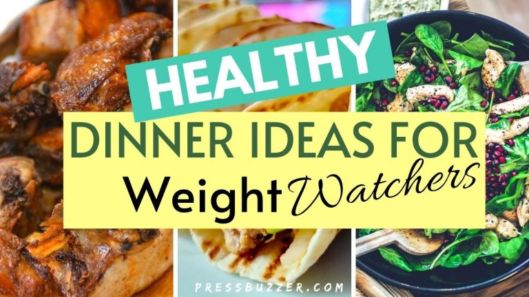 healthy dinner ideas for weight watchers