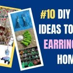DIY CRAFT IDEAS TO MAKE EARRINGS AT HOME