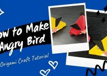 Angry Bird – Easy DIY Origami Craft Tutorial