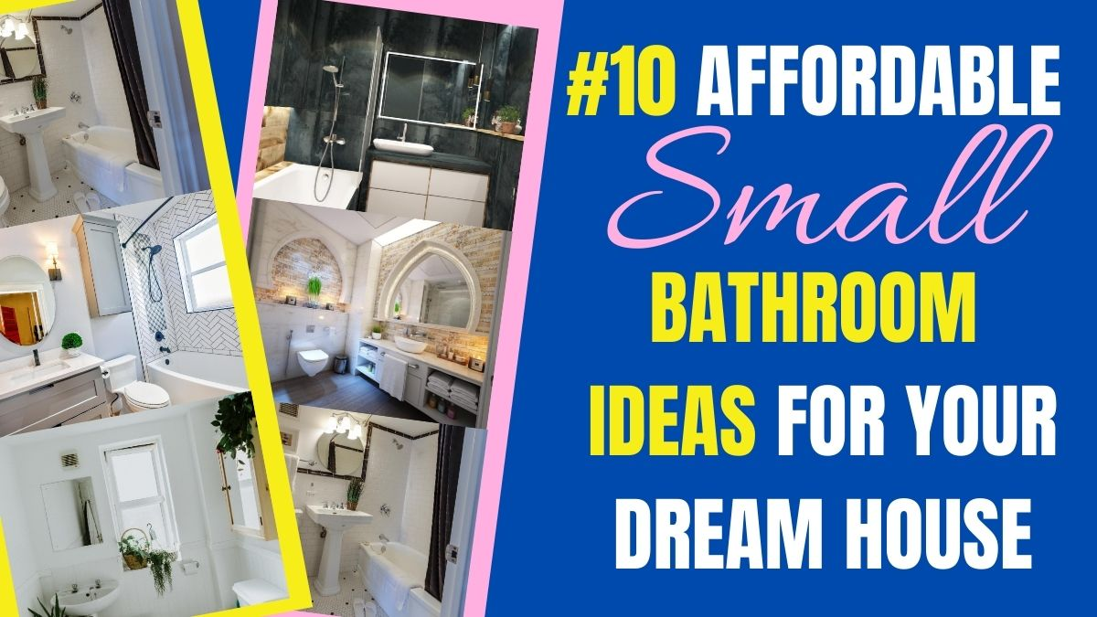affordable bathroom idea for dream house