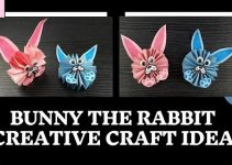 DIY-Paper-Craft: How to Make a Bunny rabbit Easily?