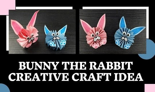 bunny rabbit diy craft idea