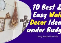 10 Best & Easy Wall Hanging Decor Ideas