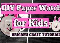 DIY Craft Idea – Kids Emoji Watch (Easy 5 mins Craft)