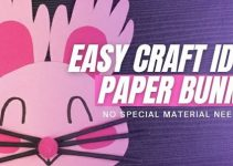 Cute Paper Bunny – DIY Origami Craft Idea