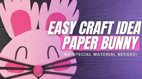 Paper Bunny - Origami Craft